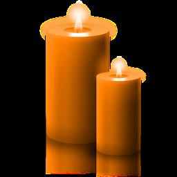 La Magia della Candela Arancione
