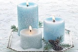 la magia della candela azzurra