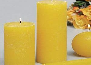 la magia della candela gialla