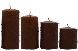 la magia della candela marrone