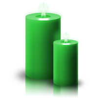 La Magia della Candela Verde