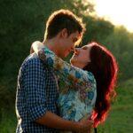 legamento d'amore su fotografia