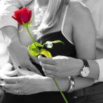 legamento d'amore con la rosa
