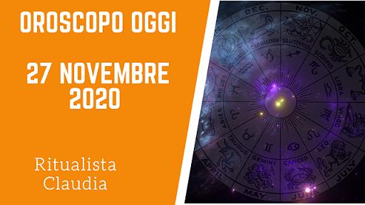 Oroscopo Oggi 27 Novembre 2020