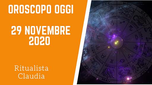Oroscopo Oggi 29 Novembre 2020
